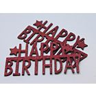 Glittered Happy Birthday - January 19 - Add On