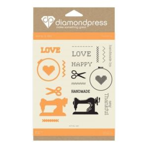 'Handmade Love' Mini Stamp And Dies