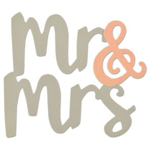 Sizzix Bigz Die - Mr And Mrs