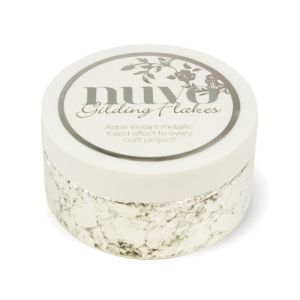 Silver Button - Gilding Flakes - Nuvo