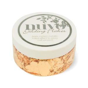 Sunkissed Copper - Gilding Flakes - Nuvo