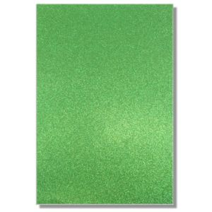 LFL Forest Green Glitter Cardstock