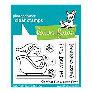 Oh What Fun - Stamps - Lawn Fawn