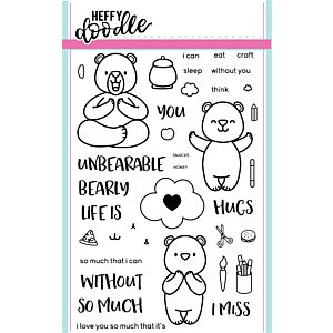 Unbearable Without You Stamps - Heffy Doodle