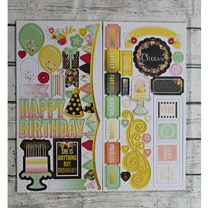 Chipboard Stickers - February 2018 Card Kit Add-On