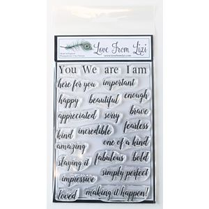 We Are - LFL Stamp Set - April 18