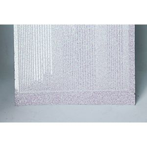 Pin Stripe Peel-Off Stickers - Clear Iridescent Glitter