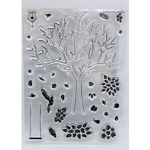Falling Leaves Stamp Set -October 18 Add On