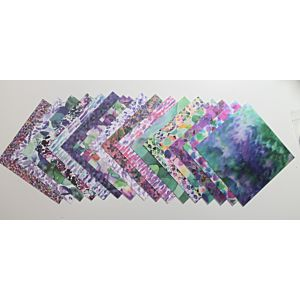 Lizi Loves - Patterned Papers - 6x6 Inches