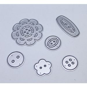 Buttons - Cutting Dies