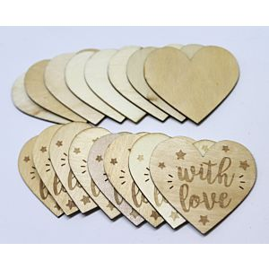 Wooden Hearts - January 19 - Add On