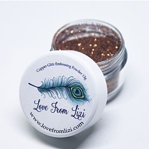 LFL Embossing Powder 13g - Copper Glitz