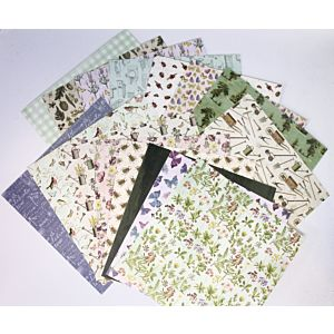 "Secret Garden 6""x6"" Patterned Papers"