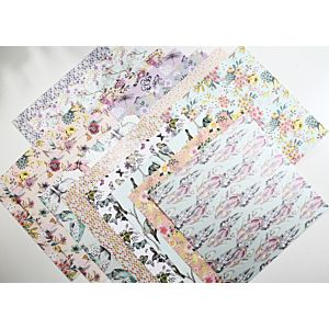 Botanical Beauty - Heavyweight Speciality Papers - 8x8 Inches