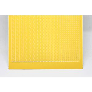 Sway Peel-Off Stickers - Yellow