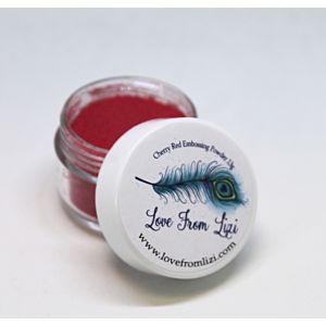 LFL Embossing Powder 13g - Cherry Red