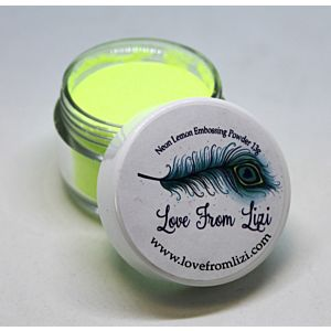 LFL Embossing Powder 13g - Neon Lemon