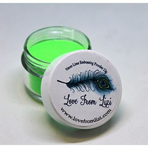 LFL Embossing Powder 13g - Neon Lime