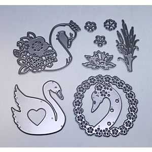 Sending Love Swan Cutting Dies