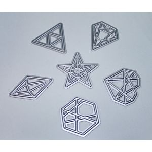 Geometric Shapes Cutting Dies - August 19 Add On