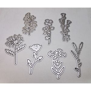 Meadow Flowers Cutting Dies - September 19 Add On