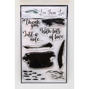 Smudges And Sentiments A6 Stamp Set - September 19 Add On