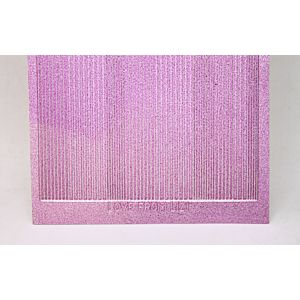Pin Stripe Peel-Off Stickers - Mauve Moondust