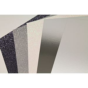 The Enchanted Lake Glitter And Mirror Cardstock Bundle - November 19 Add On