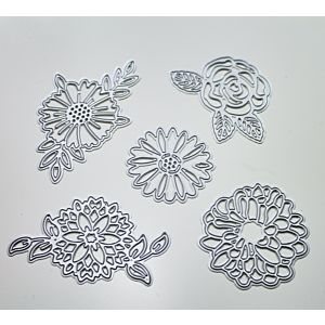 Large Flower Cutting Dies - February 20 Add On