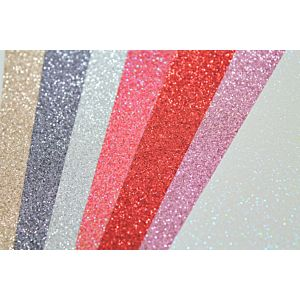 Happy Days Glitter Cardstock Bundle - February 20 Add On