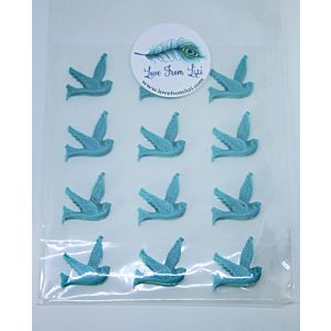 Blue Resin Birds - May 20 Add On