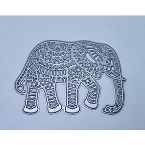 Indian Elephant - Cutting Die