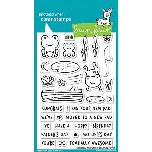 Toadally Awesome - Stamps - Lawn Fawn