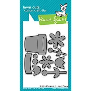 Little Flowers - Lawn Cuts - Lawn Fawn