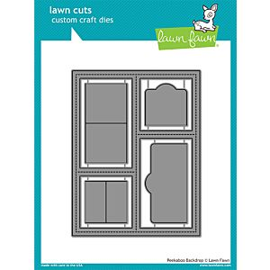 Peekaboo Backdrop - Lawn Cuts - Lawn Fawn