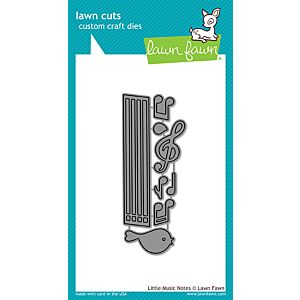 Little Music Notes - Lawn Cuts - Lawn Fawn