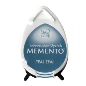 Teal Zeal - Memento Dew Drop Ink Pad