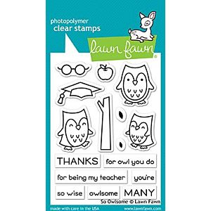 So Owlsome - Stamps - Lawn Fawn