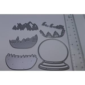 Snow Globe Builder - Cutting Dies
