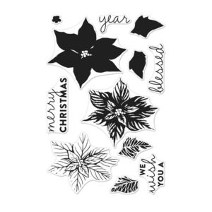 Hero Arts - Poinsettia - Stamp Set
