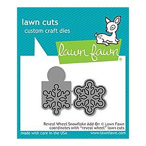 Reveal Wheel Snowflake Add on - Lawn Cuts - Lawn Fawn