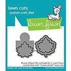 Reveal Wheel Fall Leaf Add on - Lawn Cuts - Lawn Fawn