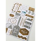 Die Cut Sentiment Tags - LFL August 18 - Add On