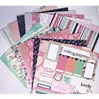 "With Love 6""x6"" Patterned Papers"