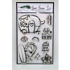 Summer Loving - LFL Stamp Set - July 19 Add On