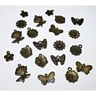 Flower and Butterfly Charms - September 19 Add On