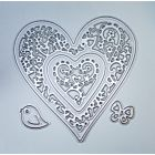 Large Layered Heart Cutting Dies - December 19 Add On