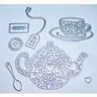 Tea Party Cutting Dies - January 20 Add On