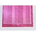 Pin Stripe Peel-Off Stickers - Pink Holographic