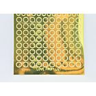 Mini Circle Peel-Off Stickers - Gold Mirror